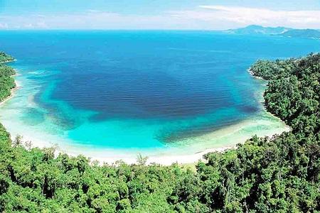 马来西亚沙巴马幕迪岛 马努干双岛一日游