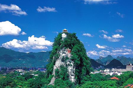 独秀峰王城景区(含登山门票)电子票 需至少提前1小时