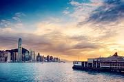 佛山出发,超值纯玩:香港金紫荆广场+太平山顶+浅水湾+夜游维港纯玩1日游