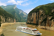 宜昌-重庆5天4晚✔美国维多利亚5星豪华游轮、独立阳台江景房、中西自助餐