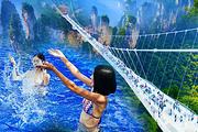 五星纯玩丨双飞张家界凤凰天门山玻璃桥6日丨泡养生温泉、住峡谷酒店、赠魅力湘西
