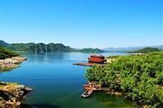 易水湖 千帆易水,赤壁外景取景地。