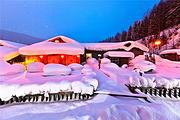 冰雪环线🔥哈尔滨+亚布力滑雪+雪乡穿越+长白山+露水河+吉林雾凇岛双飞7日