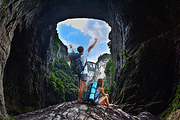月销10000件✔旅游集散中心直发重庆武隆1日游仙女山天生三桥天坑地缝纯玩团