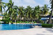 5天4晚三亚湾椰林滩大酒店~每日双早+双人蜈支洲岛门票+免税店接送+旅行跟拍