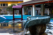 明月山维景温泉成人票2张+明月山维景国际温泉度假酒店副楼标准双床房+双早