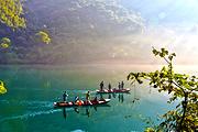 周末特惠长沙出发|东江湖+猴古山瀑布+龙景峡谷+飞天山 超值纯玩2日游