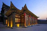五星四合院 山西灵石崇宁堡温泉酒店(2人早餐+2人温泉+标间/大床/土炕)