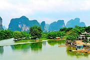 桂林双飞4天3晚游|龙脊梯田+银子岩+世外桃源+兴坪漓江|赠1餐椿记烧鹅