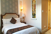 宝地斯帕温泉度假区+标准大床房1晚+2人温泉门票+2人酒店早餐