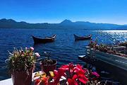 在一米阳光里柔软拉市海茶马古道一日游 土鸡火锅 骑马+划船(皮划艇不限时)