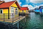 月坨岛小木屋566送海上小木屋住宿 送早餐 邂逅荷兰风情 探秘小马尔代夫
