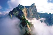 数千好评~西安康辉、陕西西安华山一日游 纯玩、赠登山手套,含门票西上北下索道
