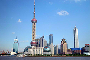 限时特价>上海东方明珠上塔+城隍庙+浦江游船+南京路一日游,天天发团