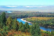 呼伦贝尔草原 额尔古纳湿地 阿尔山国家森林公 呼伦湖 莫日格勒双飞7图片