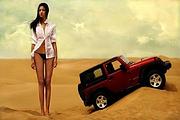 库布齐沙漠户外探险激情勇士之旅▎一日游▎包车▎品质出行▎4-6人精品出行