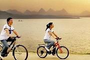 包团定制-大亚湾小桂绿道单车、野炊、山海峡激情漂流+快艇登东升岛、玩乐一日游