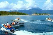 惠州海滨温泉水上乐园/快艇登岛、射箭/CS野战、捕鱼、烧烤篝火、海边公寓二天