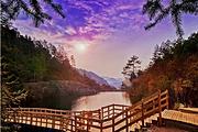 武汉出发安徽岳西天峡峡谷探幽休闲一日游(赠送旅游保险)