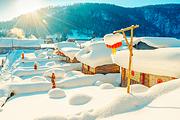 高端纯玩!双滑雪5H、寒地温泉+雪莲城堡酒店、哈尔滨+亚布力+雪乡+镜泊湖