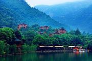 福建莆田九龙谷森林公园度假村2天1晚自由行|木屋别墅、九龙谷门票+双早