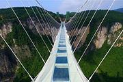 顺达专营 毛泽东故居+张家界大峡谷+玻璃桥+凤凰古城高铁往返5日游 玻凤传情