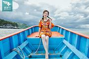 纯玩泸沽湖2日游|参观亲爱的客栈+海景房+猪槽船+登王妃岛+草海+篝火晚会