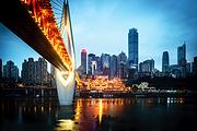 重庆双飞4日游 入住解放碑博顿美锦酒店,紧邻洪崖洞景区、朝天门广场和长江索道