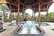 清远熹乐谷温泉2天、住熹舍设计师酒店高级房、含自助早、晚餐、无限次温泉、影票