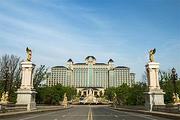 自驾到启东(住恒大海上威尼斯酒店、园景双床房、2大1小早餐、萌娃乐园套餐)