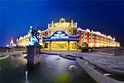 温泉戏水1晚济南泉城欧乐堡骑士度假酒店+戏水湾泰式养生温泉+早餐+自助餐