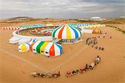 呼和浩特出发 希拉穆仁草原、响沙湾纯玩2日游 含骑马+沙漠套票 多套餐可选