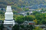 中国四大佛教圣地之一,山西五台山+云冈石窟双飞直达4日游,可增加悬空寺游览