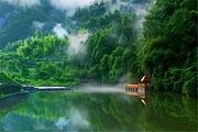 特惠套餐岳西天峡山庄住宿一晚(特色临水木屋)+2张天峡景区门票+双人早餐