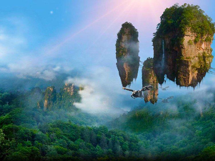 高山的风景图片