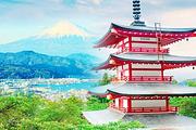 日本九州4/5日-保证1晚特色温泉+探访天满宫+奥莱+5天升级①晚希尔顿