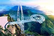 真纯玩北京石林峡丨UFO玻璃栈道一日游,挑战悬空新高度
