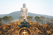 限时特惠>无锡灵山大佛、梵宫、太湖游船、苏州狮子林、寒山寺、盘门景区二日游