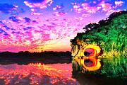 (漓悠悠纯玩)桂林阳朔漓江4日游✿象鼻山+侗王夜宴+靖江王府+遇龙河银子岩