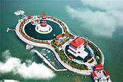 青岛-烟台威海蓬莱2日游,含餐0购物住三星,八仙过海/定远舰/刘公岛三大景区