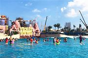 碧桂园鼎龙湾度假公寓+德萨斯水世界+沙滩音乐节+观光车+牛仔小镇+海岸风情街