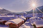 新春特惠|高端纯玩丨童话雪乡+寒地温泉+亚布力赠滑雪+6大特色餐+篝火晚会