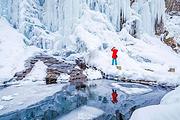 松江河镇、万达度假区起止——冬季仙境十五道沟望天鹅1日游(观冰瀑、雾凇美景)