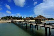 湛江特呈渔岛度假村双人两天游|多房型!含2人特呈岛往返船票+温泉+私家沙滩