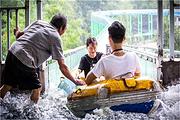 (清远天天发车)清远清泉湾空中玻璃漂流+美林湖摩天轮一天  赠送矿泉水+雨衣