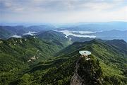 武汉出发  狮子峰360°天空之镜+黄柏山大瀑布一日游  赠送保险