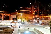 老子山钟山温泉度假酒店私家园林别墅+私密温泉泡池+8张露天温泉