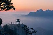 西岳华山1日游 北峰往返 含索道及进山车 赠送登山手套