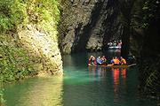 恩施鹤峰屏山大峡谷躲避峡核心景区一日游清水绿水