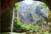 清远到英德<品质纯玩>天天发团+清远4A英西峰林洞天仙境+玻璃栈道探险1日游